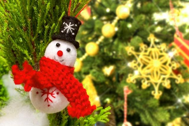 クリスマス飾り 雪だるま