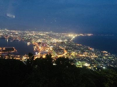 函館 100万ドルの夜景 函館山