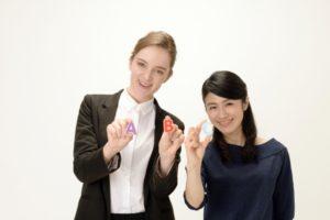 外国人と日本人