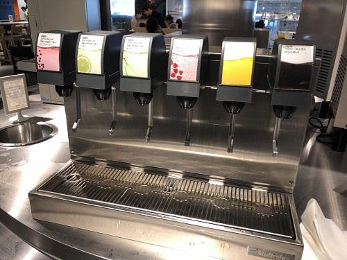 IKEA港北店 レストラン ドリンクバー