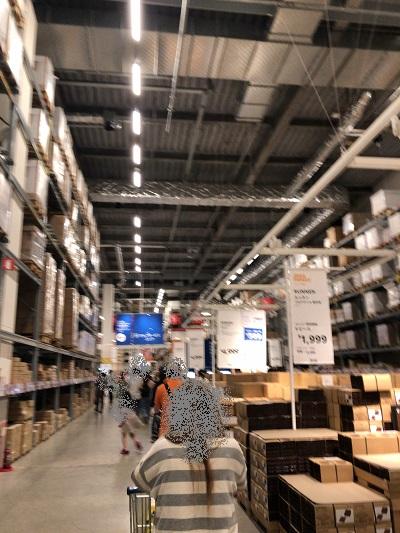IKEA港北店 セルフサービスコーナー