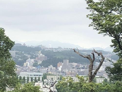 仙台城址 景色