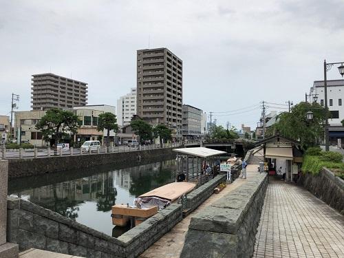 島根 松江 遊覧船乗り場