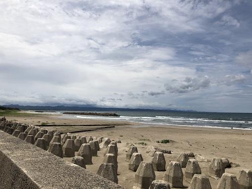 島根 出雲 稲佐の浜