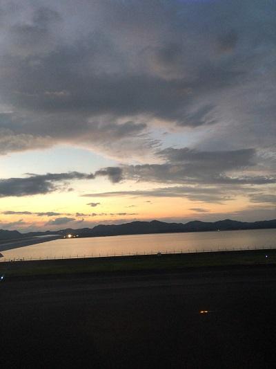 島根 宍道湖 夕景