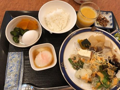 ホテルセンピア 伊那 長野 朝食