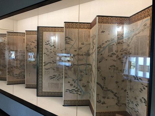 犬山城 合戦絵屏風