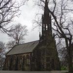 イギリス リーズ 教会 墓地