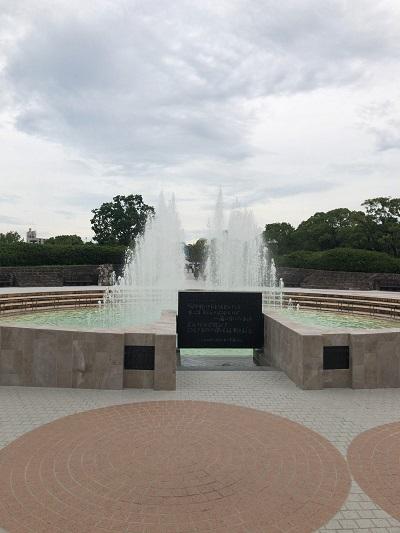 長崎 平和公園 噴水