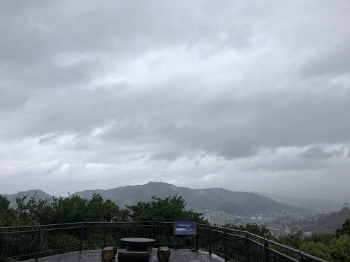 長崎 坂本龍馬 風頭公園