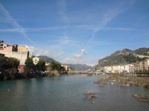 ヴァンチミリア イタリア 川