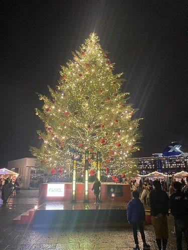 横浜 クリスマスマーケット 赤レンガ倉庫
