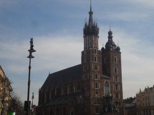 ポーランド クラクフ 聖マリア教会