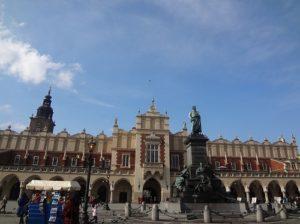 ポーランド クラクフ 広場