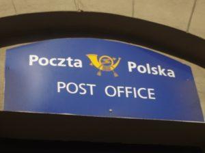 ポーランド クラクフ 郵便局