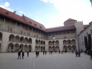 ポーランド クラクフ ヴァヴェル城