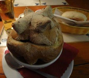 ポーランド クラクフ 夕飯
