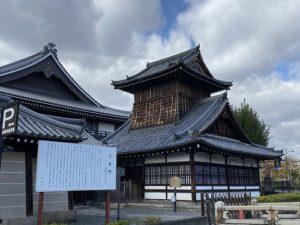 京都 西本願寺 太鼓楼