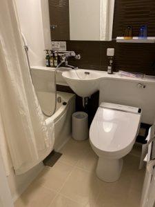 京都タワーホテルアネックス バスルーム