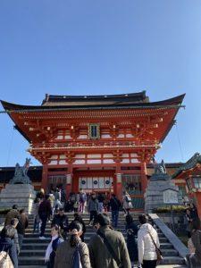 京都 伏見稲荷 本殿