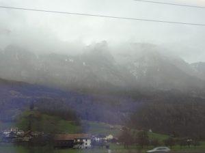 スイス チューリッヒ 電車