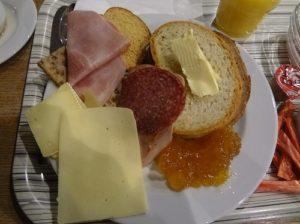 スイス チューリッヒ 朝食