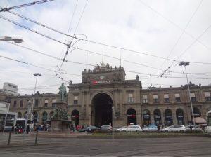 スイス チューリッヒ中央駅