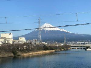 静岡 車窓 富士山