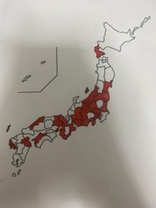 日本地図 白地図