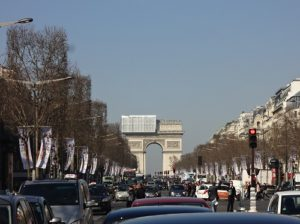 パリ シャンゼリゼ通り