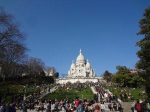パリ モンマルトルの丘