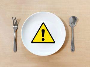 食中毒 危険