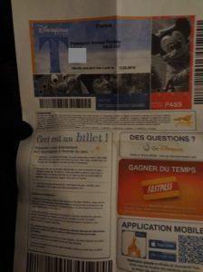 ディズニーランドパリ 年間パスポート