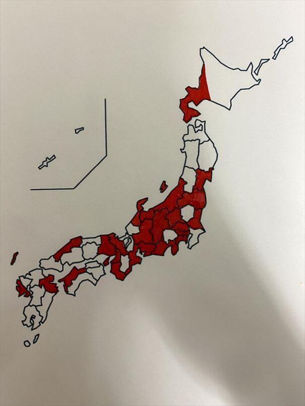 白地図 石川